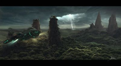 Week-end is coming, time to get inspired by the art of Jieanu Dragos, an artist working for INDG Digital.