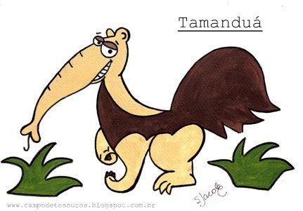 Bichos -Tamanduá