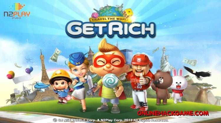 Line Lets Get Rich Hack Cheats Unlimited Diamonds   Online Hack Game