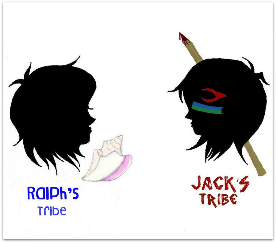 Tribes Ralph Vs Jack Lord Of The Flies Pinterest Students