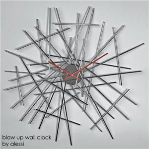 Alessi - blow up wall clock by alessi of italy