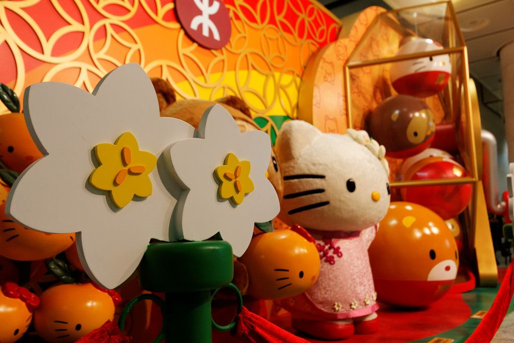 Hello Kitty @ MTR = Happy Chinese New Year! | Happy ...