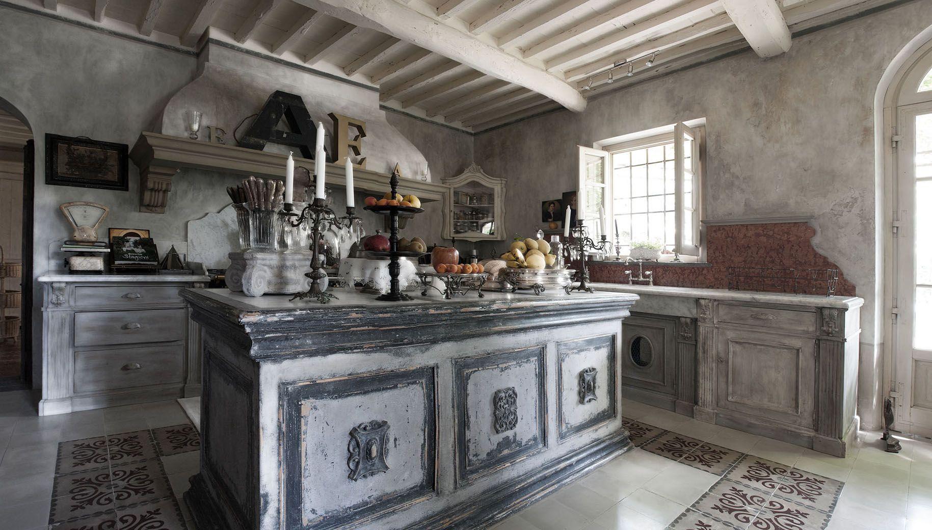 Arredamento Cucina Stile Francese | Cucina Classica Stile Impero