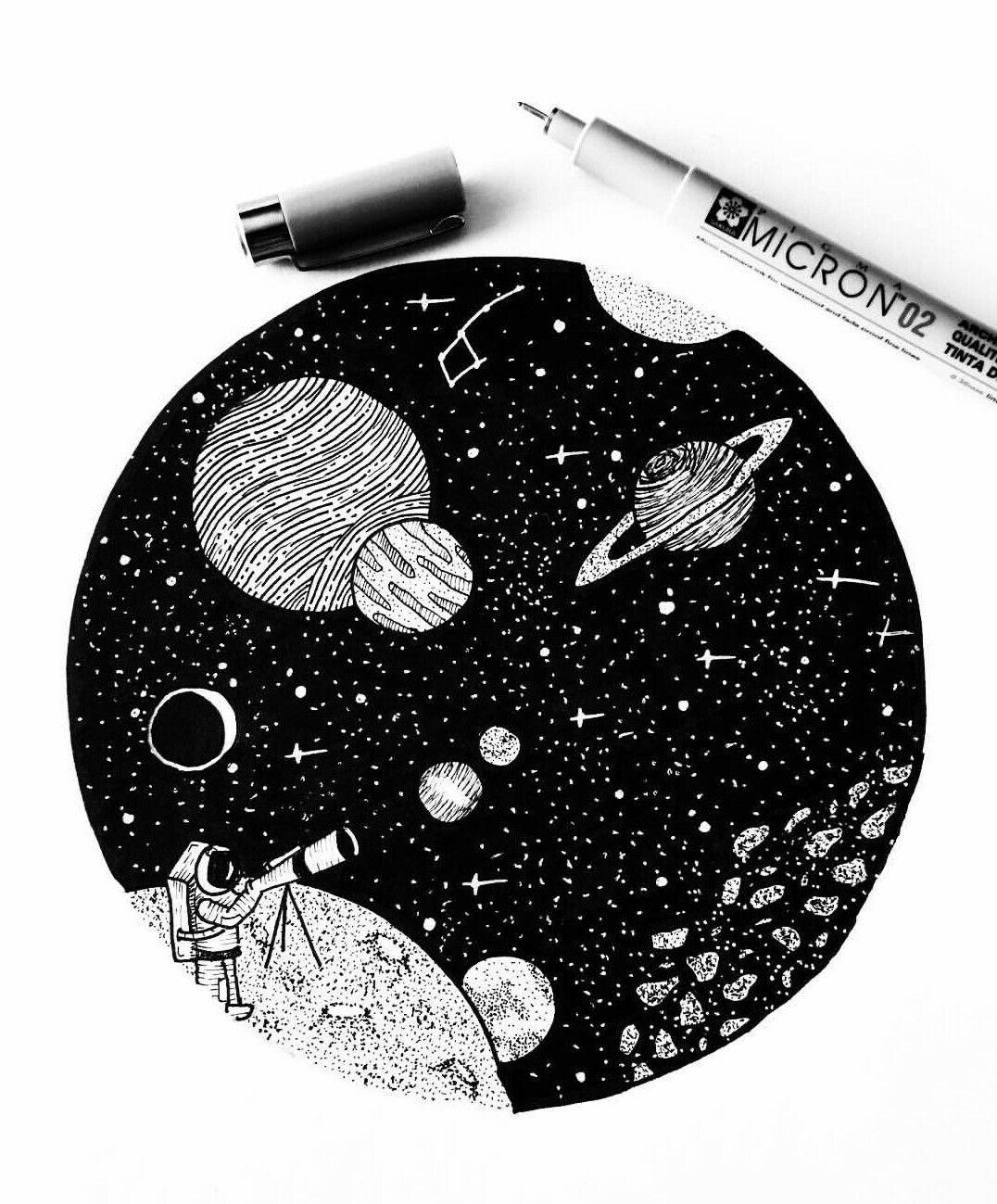 star space drawings - 736×920