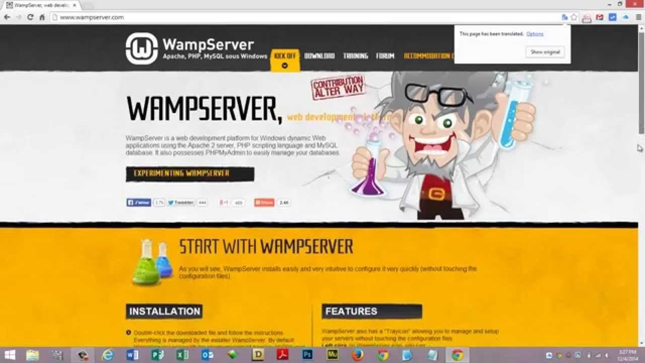 WampServer Virtual Hosts Setup anthonymarchese.us App