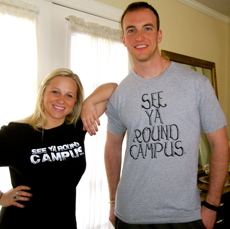 Unisex See Ya Round Campus T-shirts! On sale now! #tshirts #clothing #college #campus #sale #seeyaroundcampus #syrc