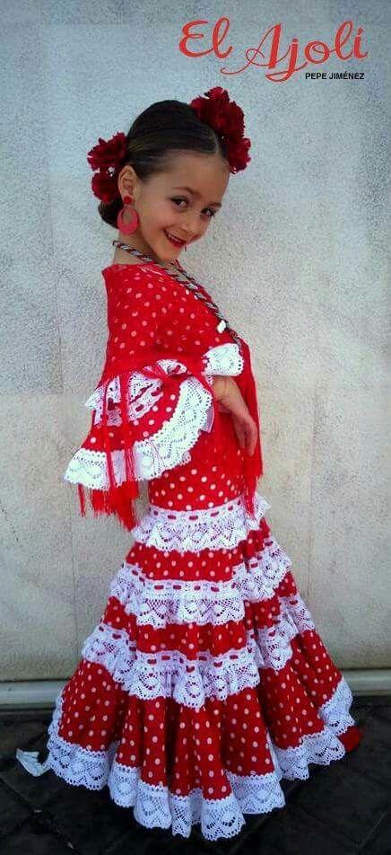 475863908 Pin de Leigh Baker Hardin en Costume en 2019   Traje flamenca niña ...