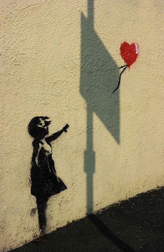 One of my favourite Banksy pieces. | Wandering Around | Pinterest ...