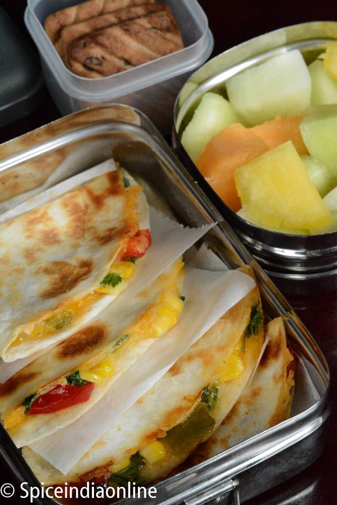 Cheesy vegetable quesadillas recipe school work lunch box find this pin and more on school work lunch box recipes by spiceindia cheesy vegetable quesadillas recipe forumfinder Images