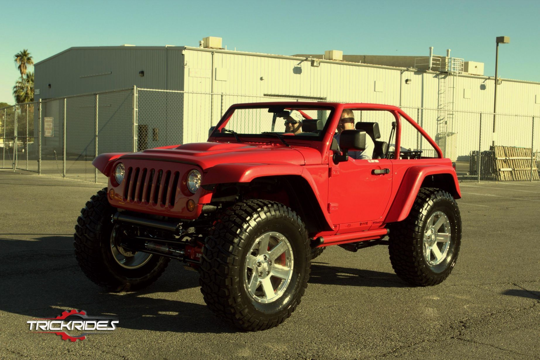 2010 Jeep Wrangler Rubicon by Billet Badges at SEMA show