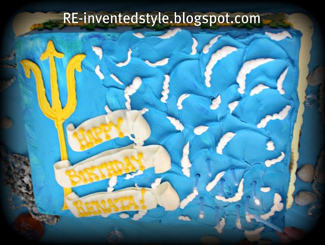 Percy Jackson And The Olympians Camp Half Blood Cake And Other Kids