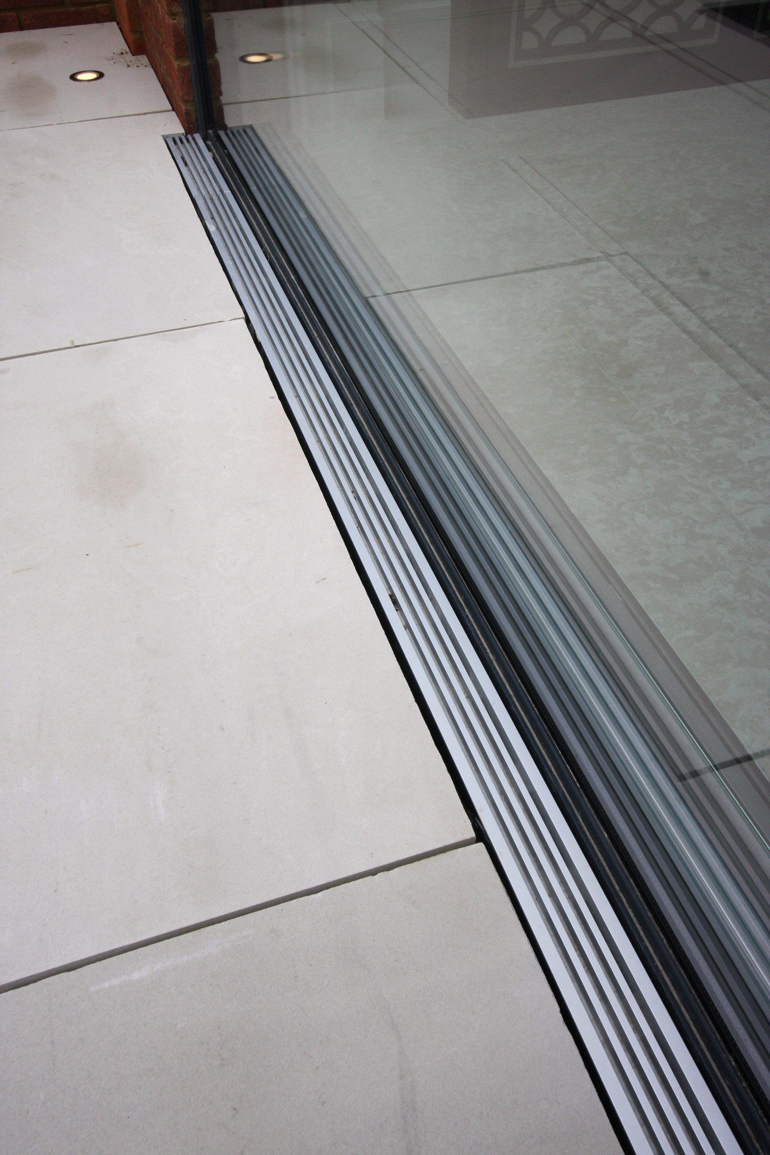 Flush Threshold On The Slim Fram Sliding Doors Foxwood