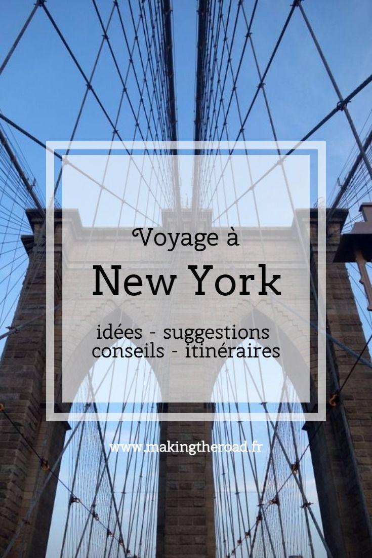 New York - itinéraire 10 jours - Circuit à pied - Blog de voyage ...