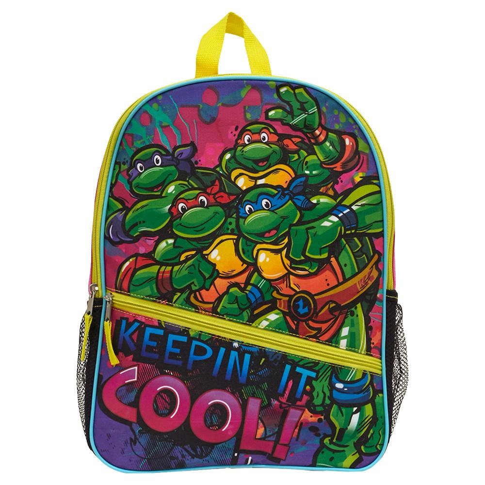 TMNT Backpack Teenage Muntant Ninja Turtles 80s Retro Bioworld