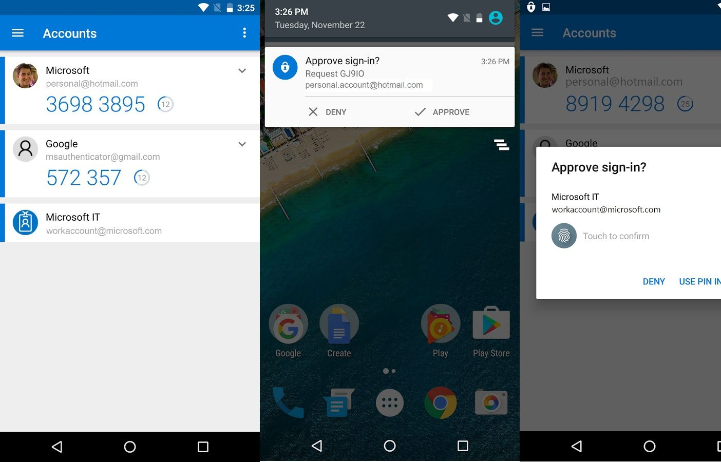 Microsoft Updates Authenticator For Android With Fingerprint Support
