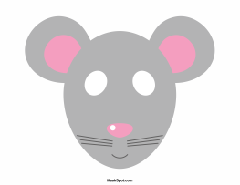 Pin By Ramona Jackson On Masks And Costumes Mask Template Mouse