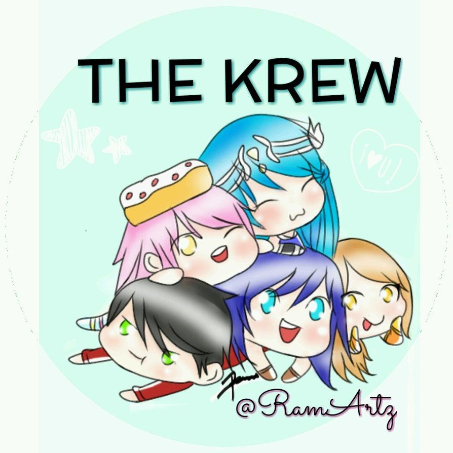 Itsfunneh And The Krew By Ramiartz On Deviantart Chibi Wallpaper