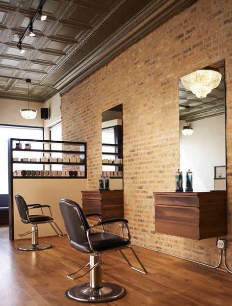 Sal n de belleza estante espejo sal n de belleza peluqueria decoracion salones y for Interiors modern home furniture woodbridge va