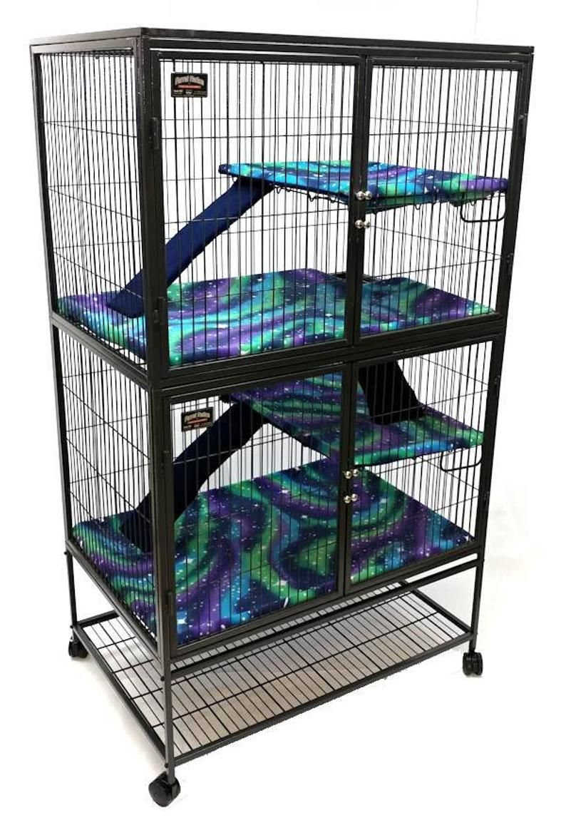 Ferret Nation Critter Nation Fleece Cage Liners Bedding Etsy In 2020 Cages For Sale Ferret Critter Nation Cage