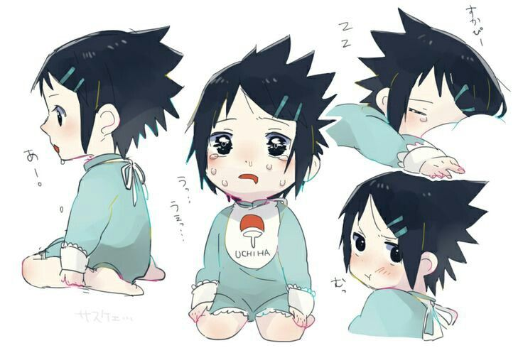 Baby Sasuke Uchiha | Anything Anime | Naruto sasuke sakura