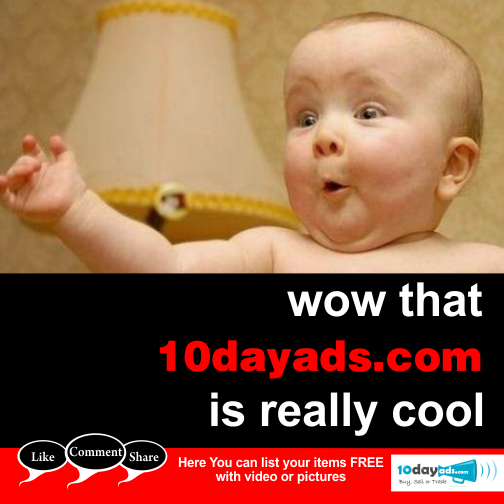 Wow that 10dayads.com is really cool.  #LocalClassifieds #PostFreeAds #ClassifiedAds #OnlineClassifieds