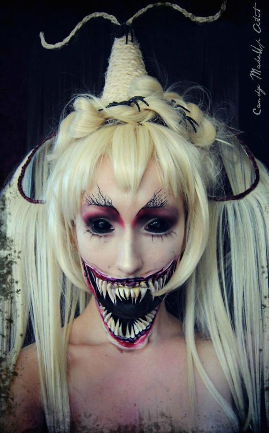 Creative/terrifying Halloween make up ideas