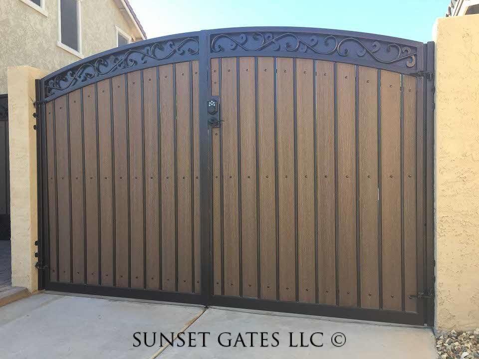 Rv Gates Phoenix Arizona Sunset Gates Door Gate Design