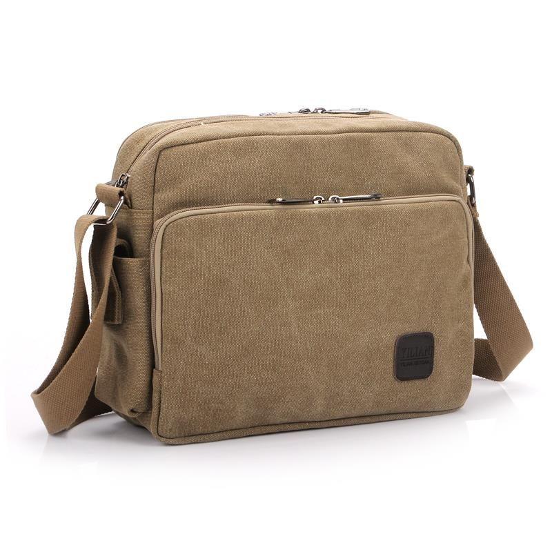 Fashionable High Quality Wholesale Canvas Messenger Bag Military Sling Bag f52ed418266ba