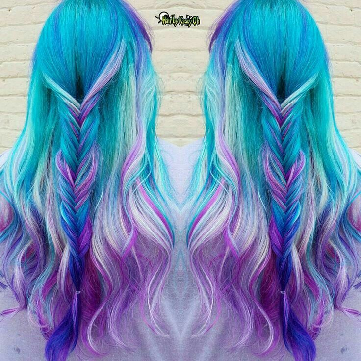 52 Ombre Rainbow Hair Colors To Try 2: Mermaid Hair Color, Hair Styles