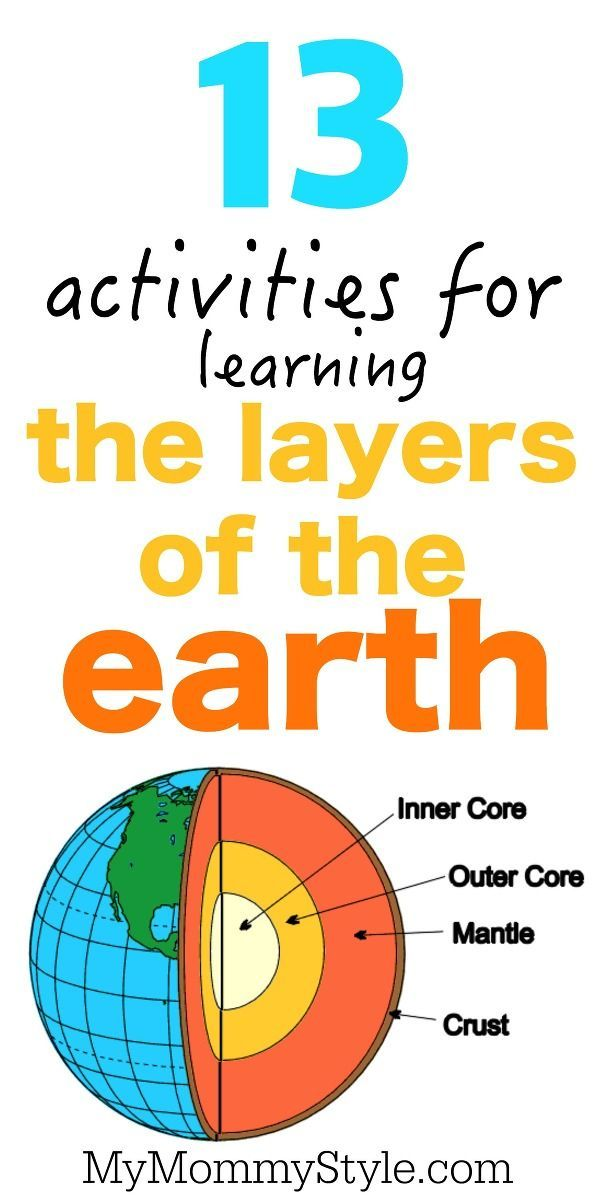 13 layers of the earth activities globaled multicultural learning for kids earth science. Black Bedroom Furniture Sets. Home Design Ideas
