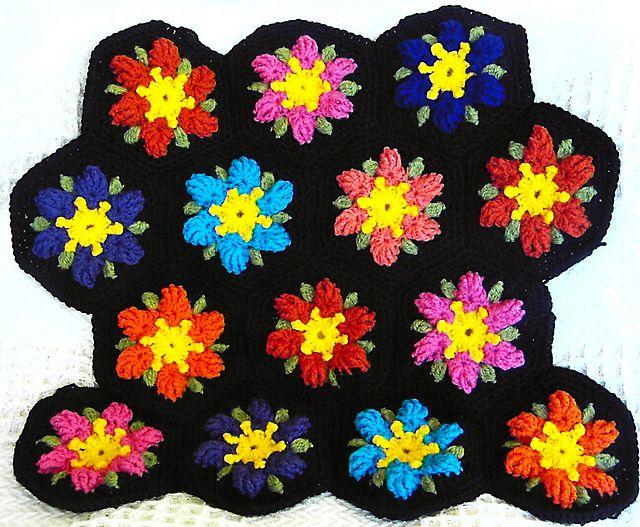 Pin de Joy Ryan en mycrochet hexagons 1 | Pinterest