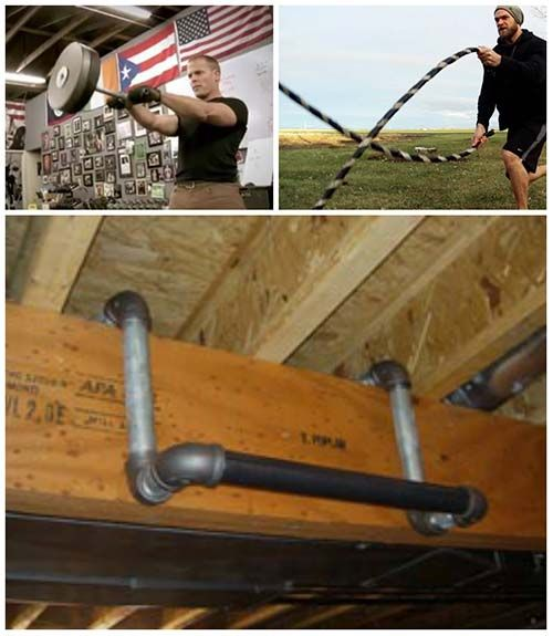 Diy Gym Equipment 21 Fitness Projects You Can Build At