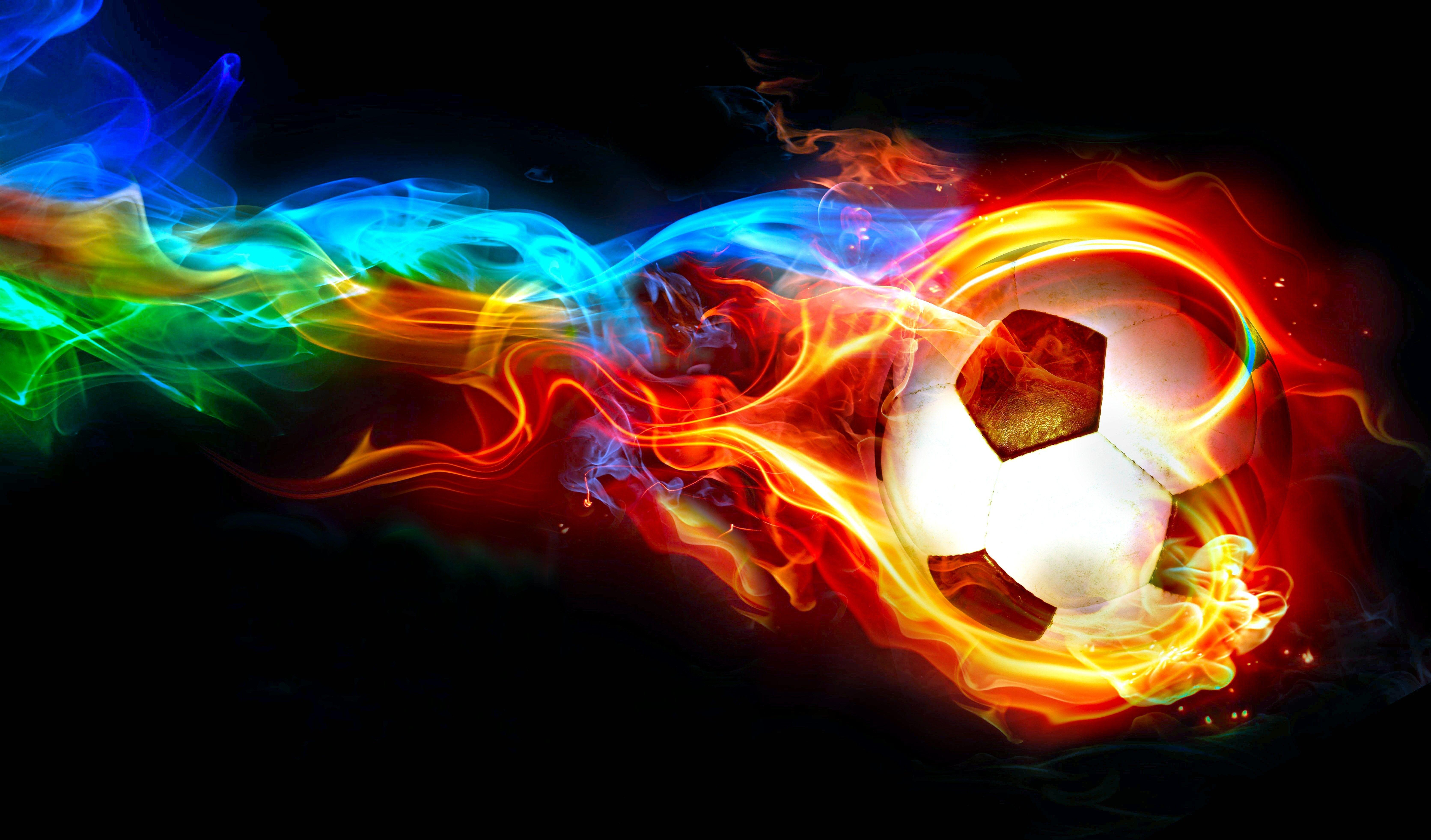 Wallpapers Light Orange Neon Graphics Brazil National Football Team Soccer Ball Soccer Backgrounds Soccer Pictures