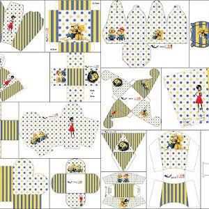 Película de los Minions: Cajas para Imprimir Gratis. | Ideas y material gratis para fiestas y celebraciones Oh My Fiesta!