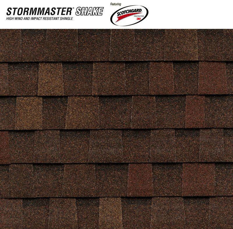 Best Stormmaster Shake Burnt Sienna Shingle Color Shake 400 x 300