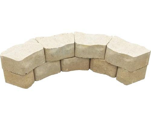 Mauerstein iBrixx Pure sandstein 25 18x14x10cm Ideen rund ums - mauerstein vollstein bellamur anthrazit