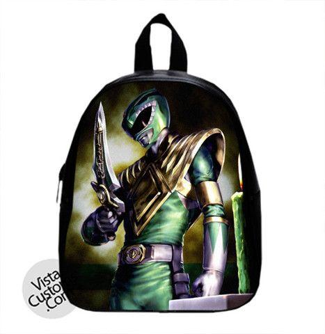 5d4b71bea0e0 Power Rangers GREEN RANGER New Hot School Bag Backpack | School Bag ...