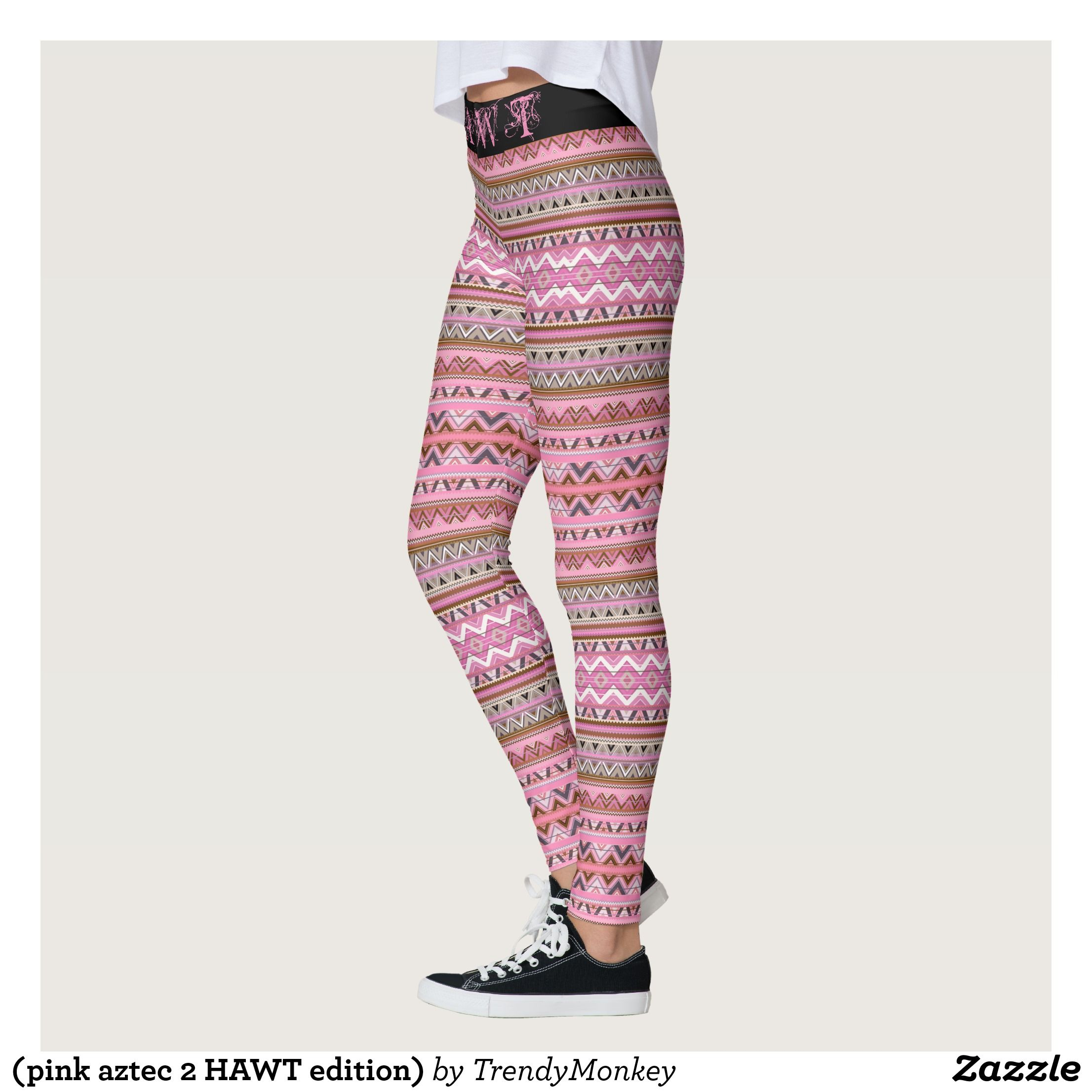Pink Aztec 2 HAWT Edition Leggings Beautiful Yoga Pants