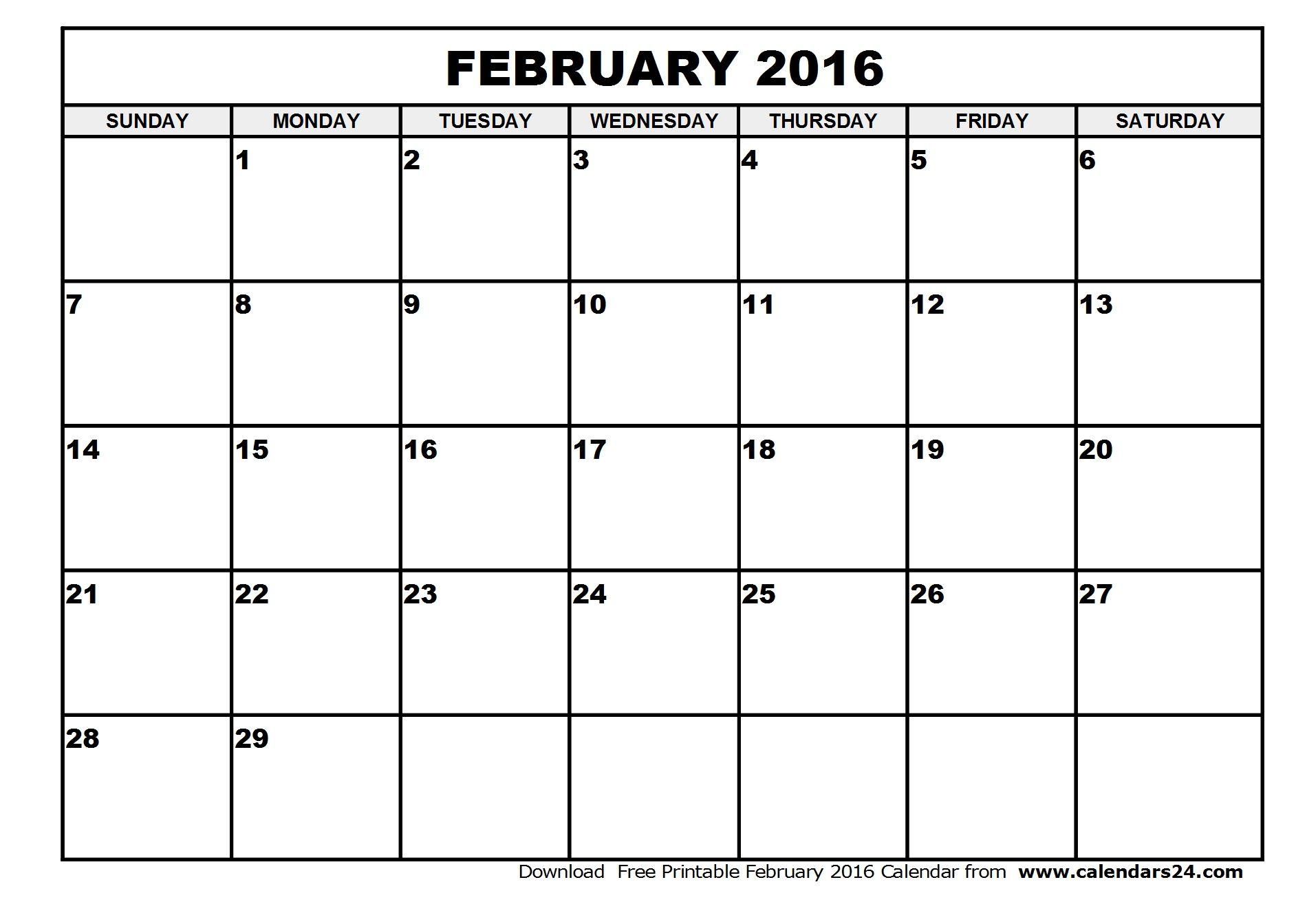 February 2016 Calendar Amp March 2016 Calendar August Calendar