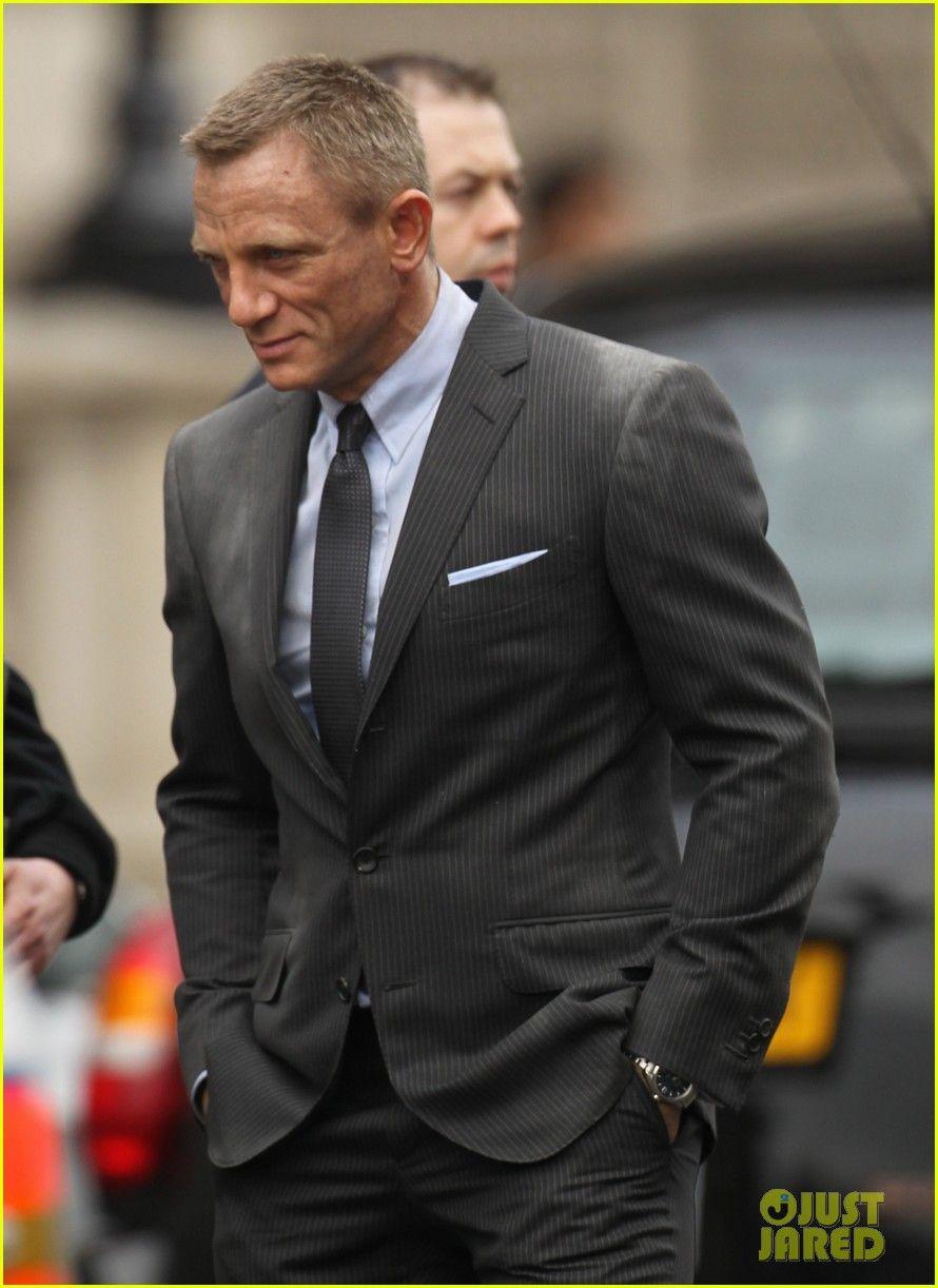 Daniel Craig Javier Bardem Skyfall Set Daniel Craig Photo