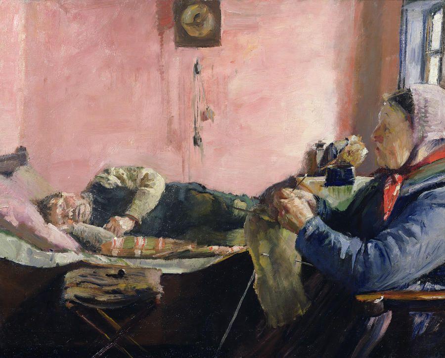 Niels Gaihede S Afternoon Nap Christian Krogh 1883 Scandinavian Art Art Editorial Art