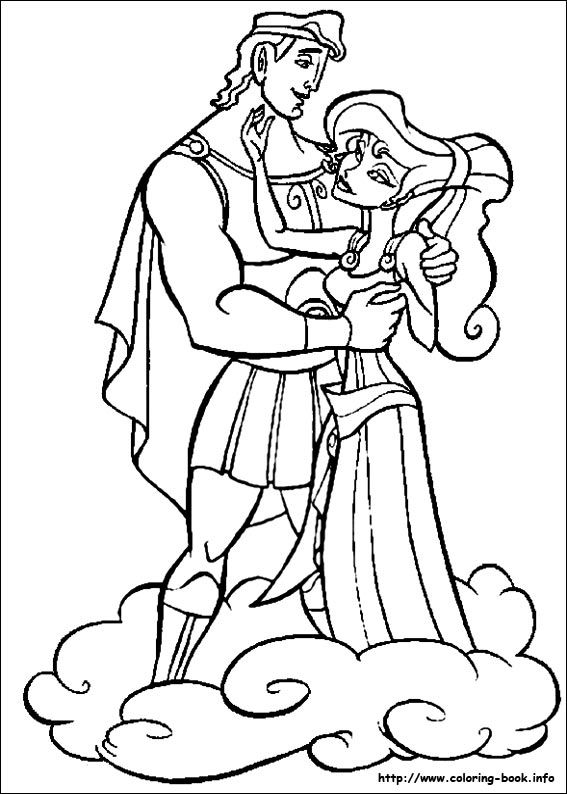 hercules coloring picture - Hercules Coloring Pages