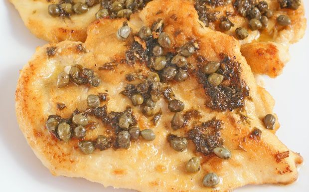 Flat Belly Diet Chicken Picatta at This Mama Cooks! - thismamacooks.com- Dinner