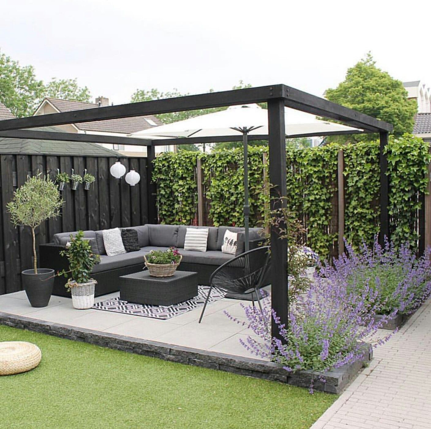 one day | garden ideas | garden seating, backyard