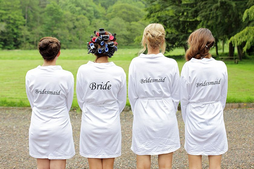wedding dressing gown - Google Search | Wedding Inspirations ...