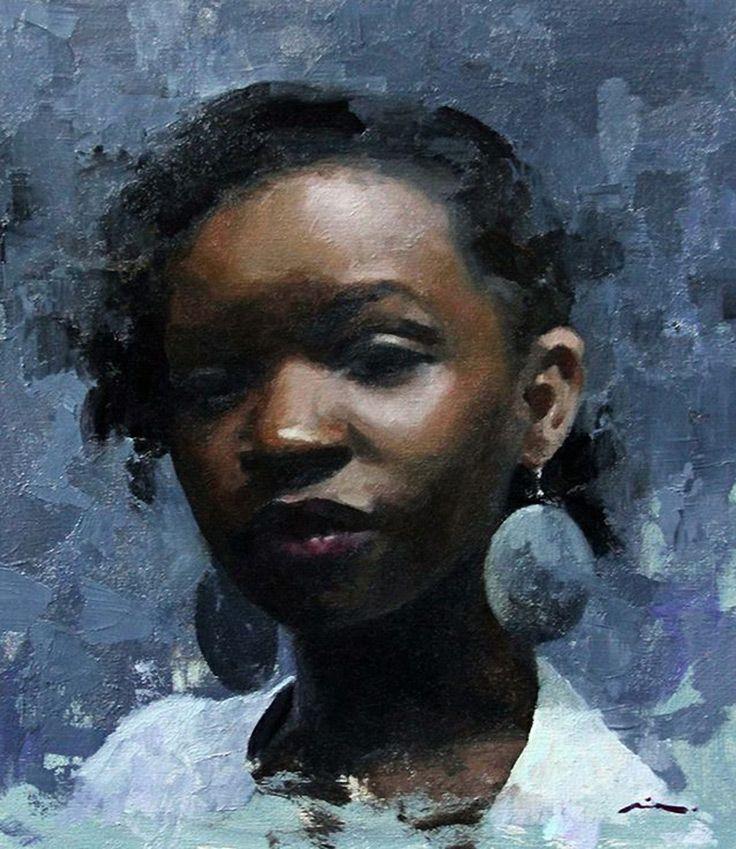 Mia Bergeron {contemporary figurative art pretty young