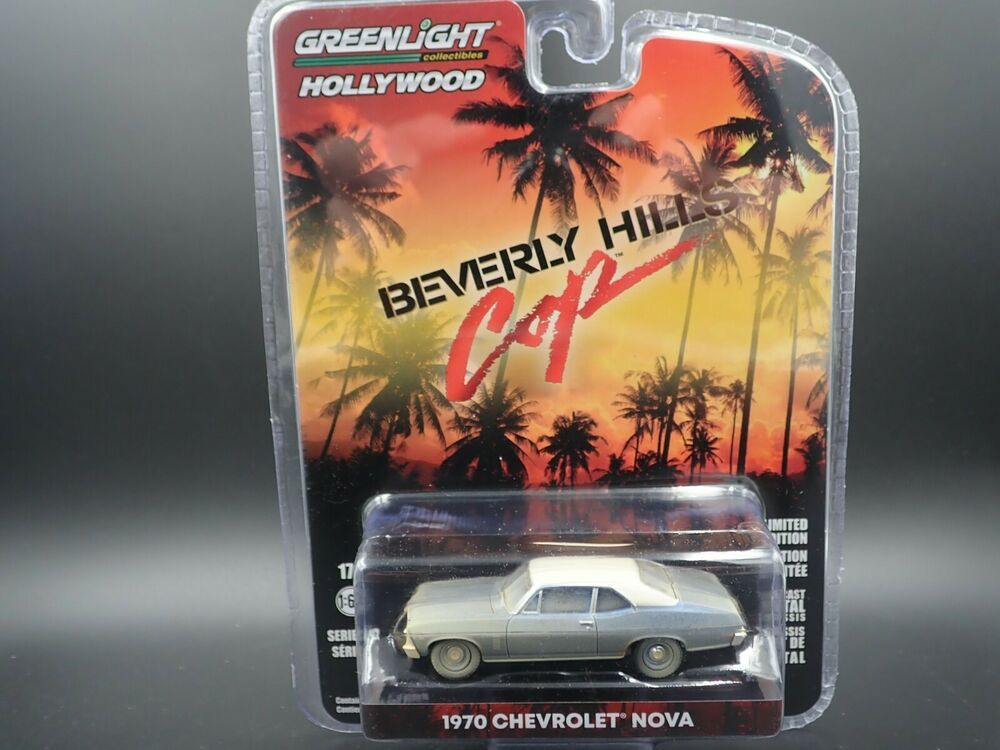 Details About Greenlight 1970 Chevrolet Nova Beverly Hills Cop Car