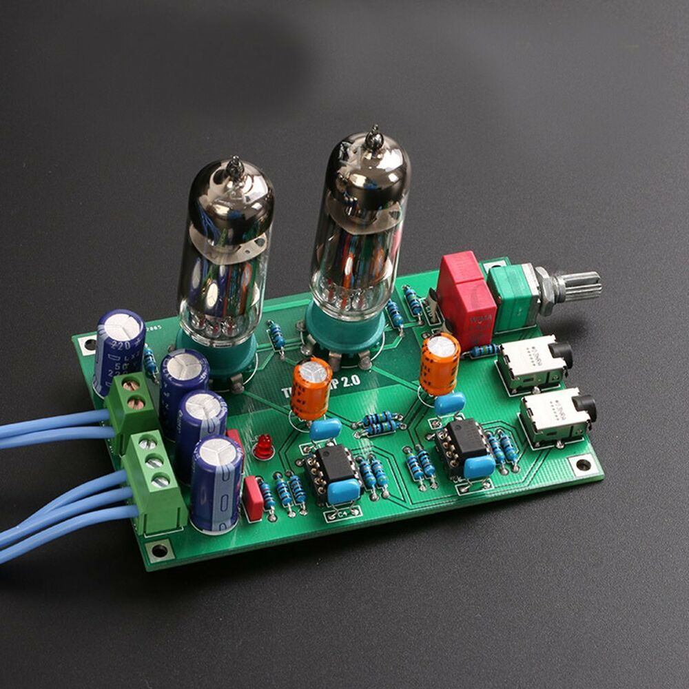 Details about Class A 6J5 Vacuum Tube Preamp Preamplifier