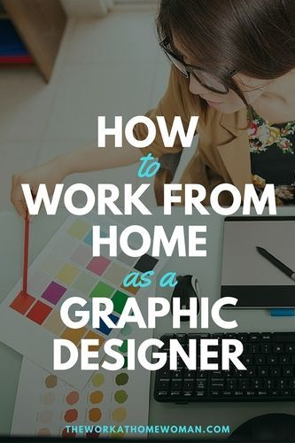 How to Work From Home as a Graphic Designer #graphicdesign