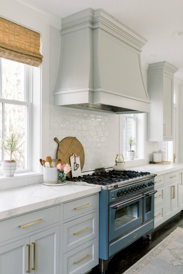 Best Timeless Tranquil White Grey Kitchen Tour White 400 x 300